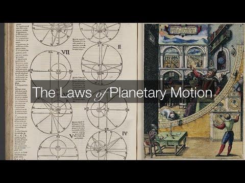 3.1 Kepler's Laws of Planetary Motion