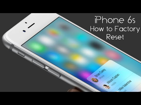 how to reset iphone back to factory settings iphone 6s how to reset back to factory settings 20973