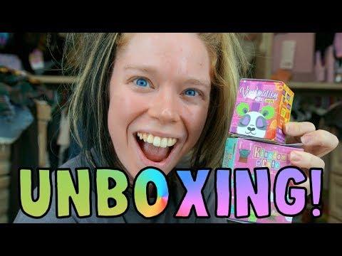DISNEY MYSTERY UNBOXING! - Kingdom of CUTE, Vinylmation, Park Starz