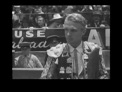 1951 EL TORERO Y LA DAMA
