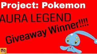 ROBLOX Proyecto: Pokemon ? El sorteo de la leyenda de Aura ¡Ganador!