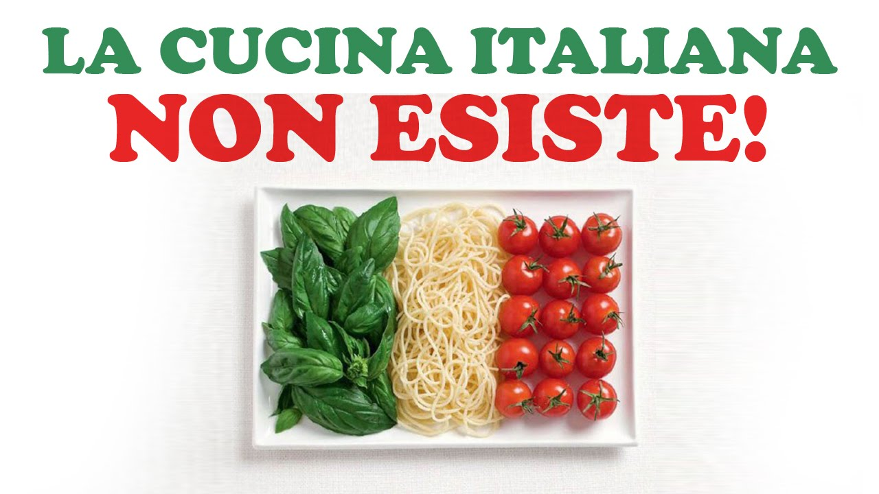 La CUCINA ITALIANA Non Esiste  YouTube