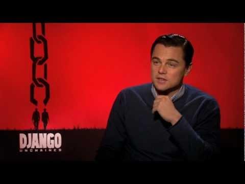 Django Unchained | Leonardo DiCaprio Interview (2013)