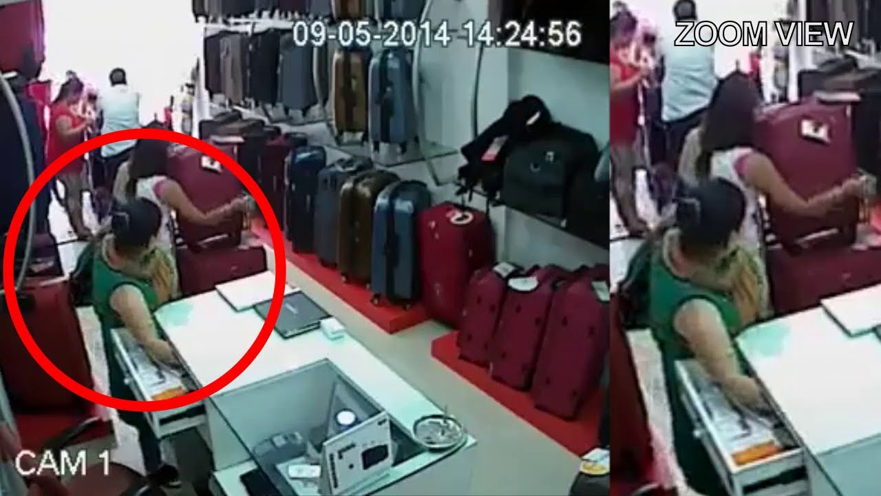 Four Women Attempting Theft In A Bag Shop || Mission Successful ...