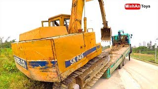 Video Excavator and Truck | Truck Excavator Heavy Transport ♫ Song for kids in VietNam download MP3, 3GP, MP4, WEBM, AVI, FLV Oktober 2018