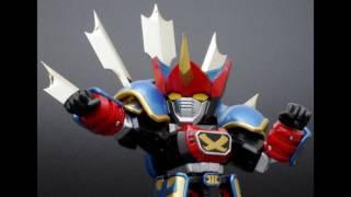 Sengoku Majin Gohoshogun ES Alloy Gooseogun (Die Cast & ABS Painted Movable Model)