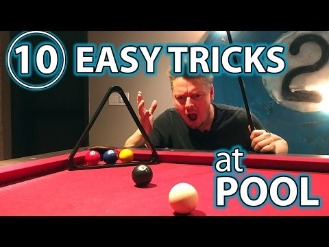 Thumbnail: 10 Top Trick Shots and Pranks at the Pool Table for Beginners!