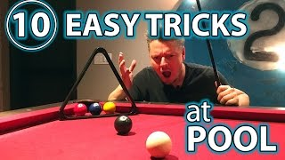 TOP 10 Pool TRICK Shots and PRANKS!! Part 3 : EASY