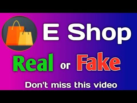 E Shop App Real or Fake Review In Telugu | Act Shop Clone, AWO, eShop