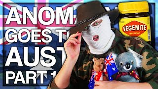 Anomaly goes to Australia (PART 1)