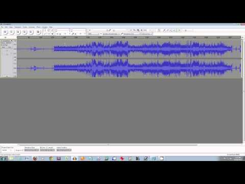 How to Master Recorded Audio using free software tools - tutorial by Geoffmobile.com