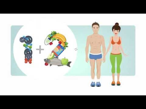 Как правильно похудеть и набрать мышечную массу.