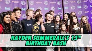 Hayden Summerall's 13th Birthday Bash