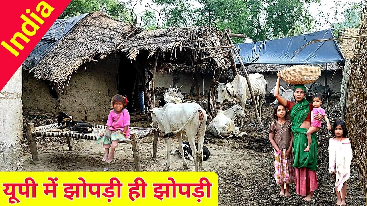 Download The Condition Of The Poor In Uttar Pradesh, India. || Village Life India UP