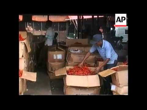 INDONESIA: JAKARTA: PRICE OF CHILI PEPPERS ROCKETS