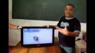 Como consertar TV LCD Samsung congelando imagem ao ligar ou com a tela toda branca.