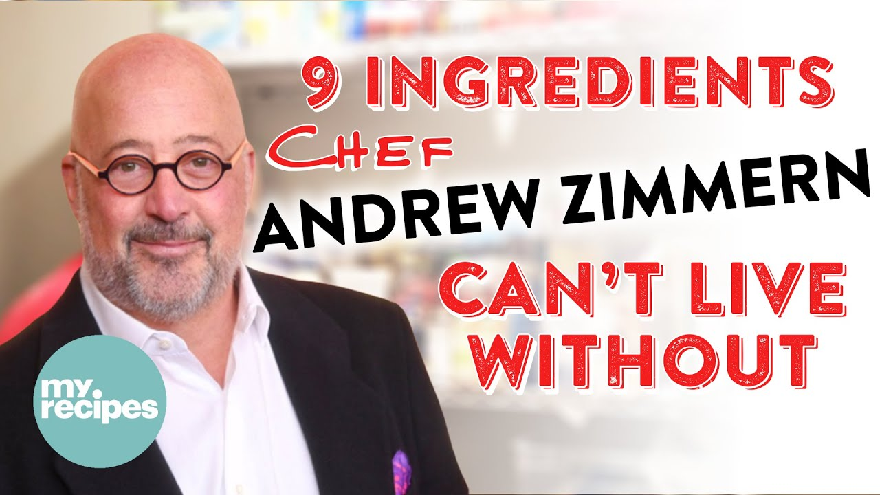 9 Ingredients Chef Andrew Zimmern Can't Live Without | Celebrity Kitchen Show & Tell