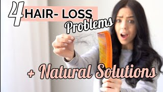 Hair Loss CAUSES | How to NATURALLY Grow Thick Hair