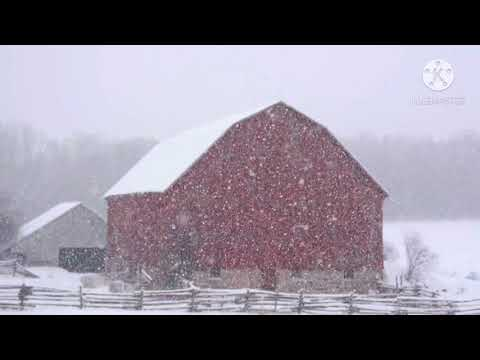 Relaxing Snowfall: Beautiful Falling Snow - The Best Relax Music in Guitar Piano Music, Snow Falling