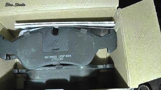Замена передних тормозных колодок Opel Omega
