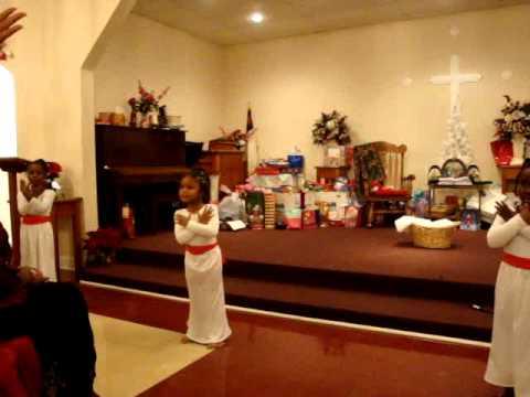 sharlas christmas praise dance 2010mpg - Christmas Praise Dance