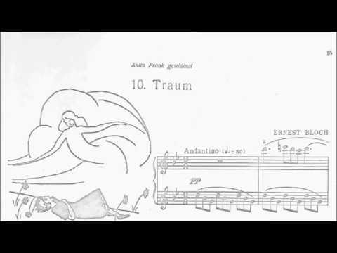 ABRSM Piano 2019-2020 Grade 5 B:4 B4 Bloch Dream (Enfantines No.10) Sheet Music