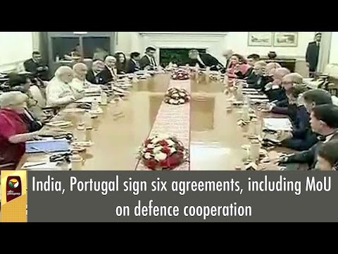 India, Portugal sign six agreements, including MoU on defence cooperation