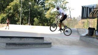 How to Do a 360 Bunny Hop | BMX Bike Tricks