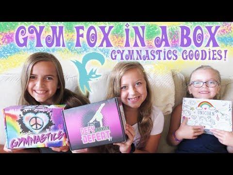 Gym Fox In A Box Gymnastics Goodies! | Crazy8Family