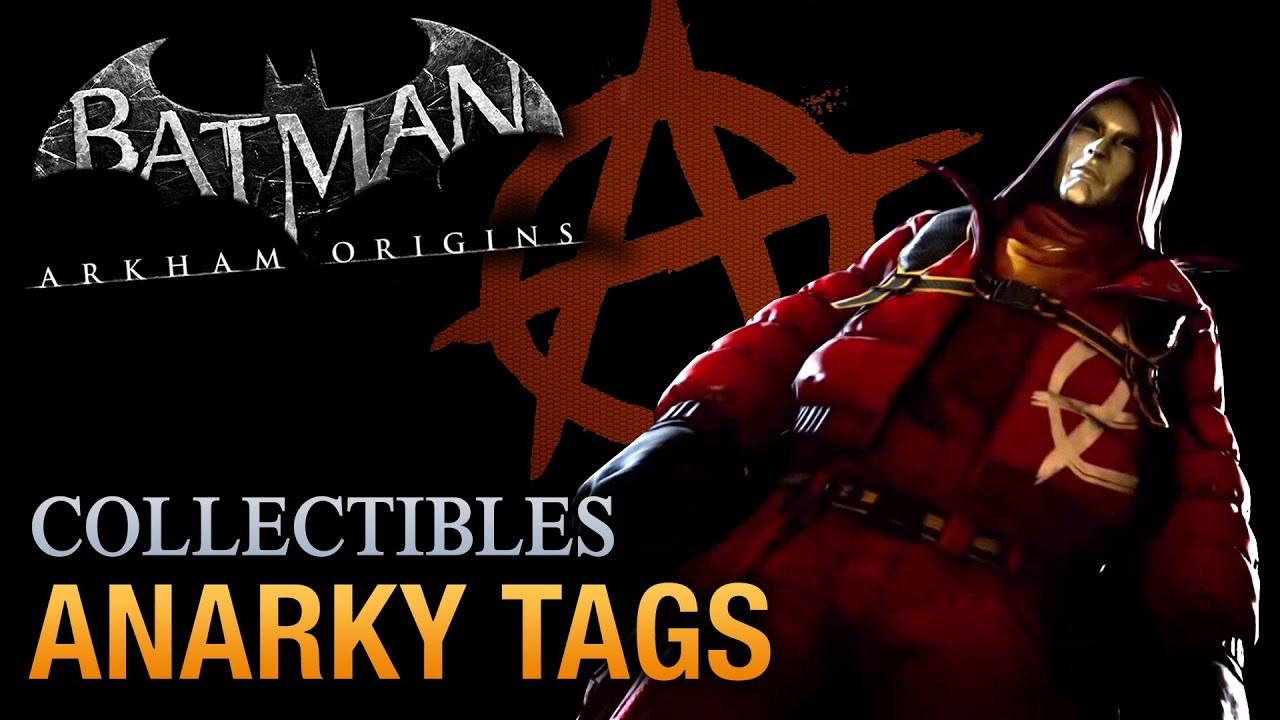 Batman: Arkham Origins - Anarky Tags [Voice of the People ...