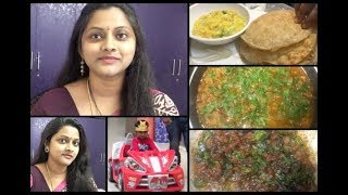 Sunday Vlog Poori and Besan Chutney | Mutton Curry and Mutton Fry | How to Reduce Hair Fall |