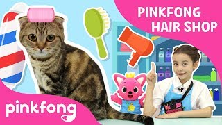 Pinkfong Hairshop Open! | Pinkfong Playfong | Hairshop Play | Pinkfong Show for Children