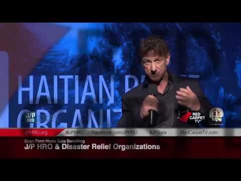 2018 Sean Penn Gala JP/HRO Haitian Relief Organization