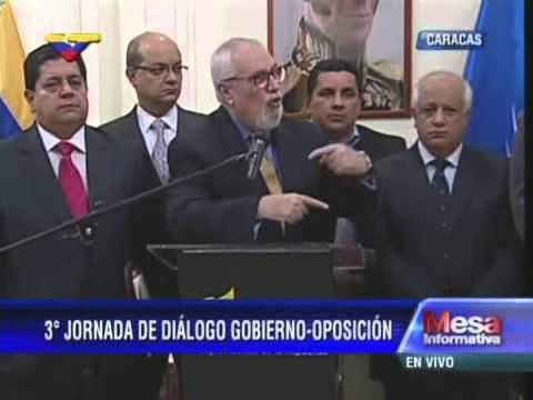 Tercer Diálogo Gobierno-Oposición con víctimas 11-A: Habla Ramón Guillermo Aveledo