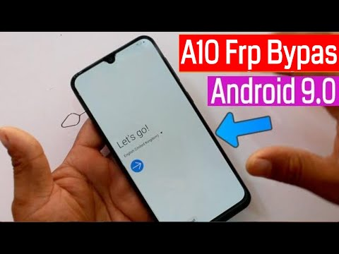 Samsung Galaxy A10 FRP/Google Lock Bypass Android 9.0 Without Pc | No Sim | No Talkback