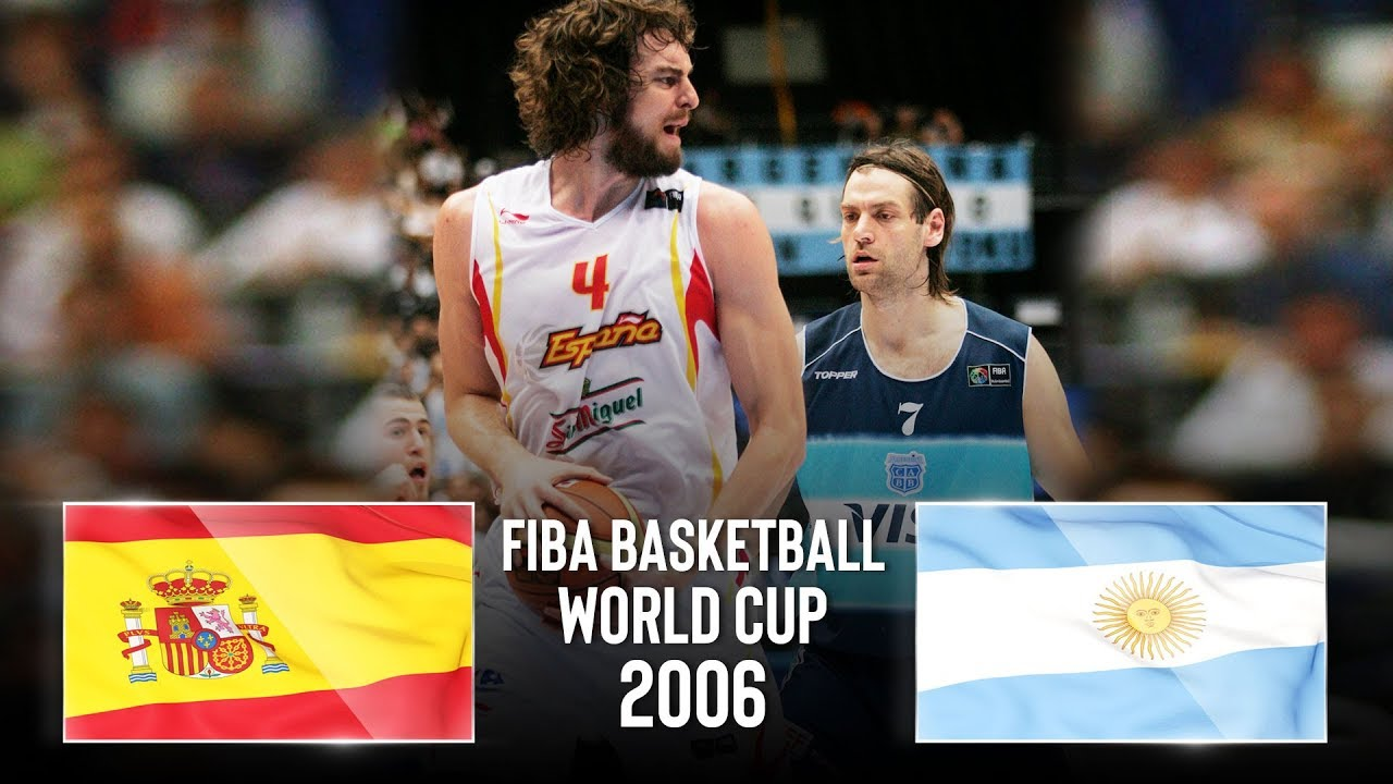 #THROWBACK Spain 🇪🇸 v Argentina 🇦🇷 - Classic Full Games | FIBA Basketball World Cup 2006