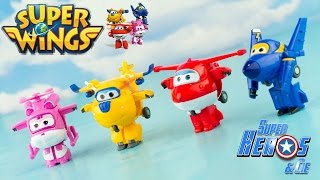 Super Wings Mini Figurines Transformables Jett Donnie Dizzy Jerome ouet Toy 출동슈퍼윙스 신제품 장난감