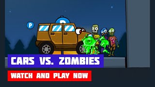 Cars vs. Zombies · Game · Gameplay