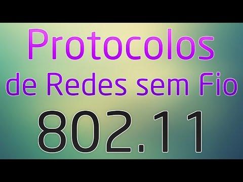 Protocolos de Redes sem Fio: 802.11 (802.11a, 802.11b, 802.11g, 802.11n, 802.11ac)