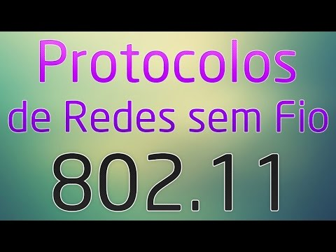 Protocolos de Redes sem Fio (802.11a, 802.11b, 802.11g, 802.11n, 802.11ac) - 802.11 Wireless Wi-Fi