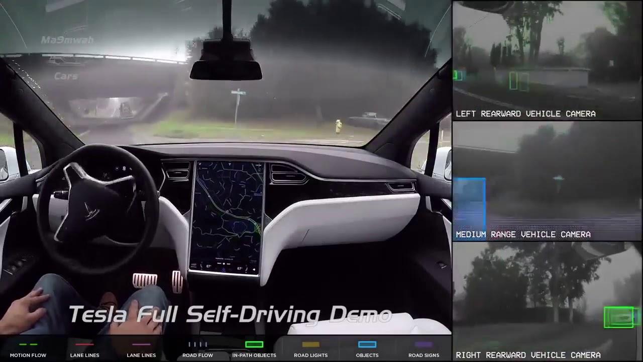 NEW Autopilot Car Tesla Future Technology
