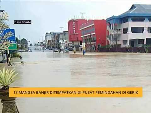 13 mangsa banjir ditempatkan di pusat pemindahan di Gerik