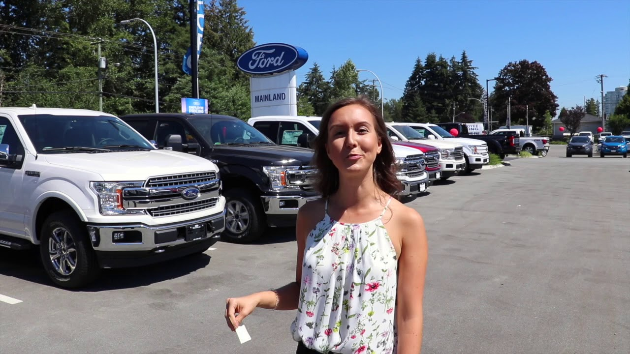 Build And Price Your New Ford Car Or Truck Mainland Ford >> Huge Savings On A F150 4x2 Truck Employee Pricing Mainland Ford