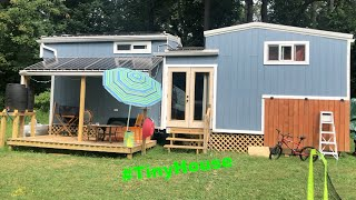TINY HOUSE TOUR: a family goes tiny