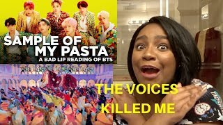 BTS IDOL A Bad Lip Reading REACTION