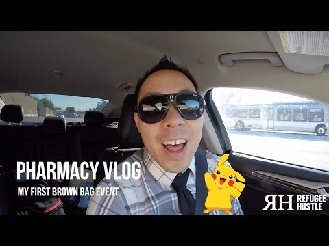 Pharmacy Vlog: My first brown bag event!