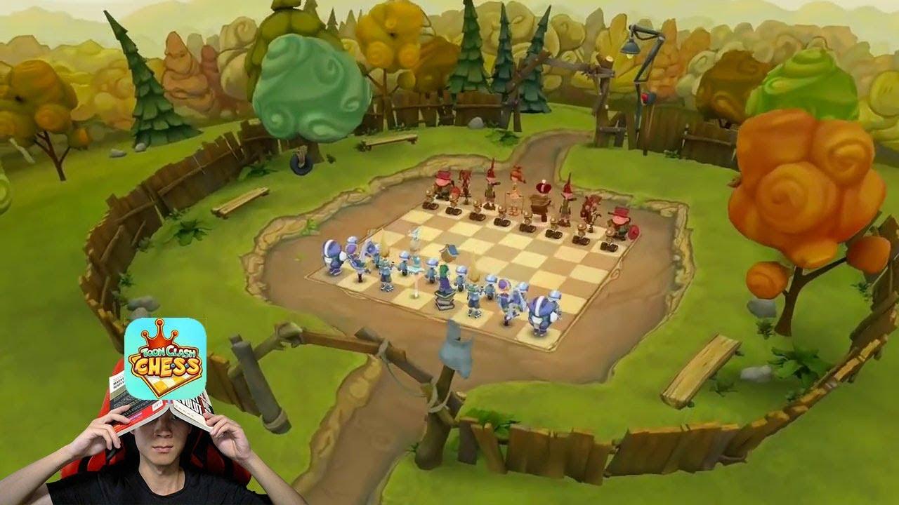 Toon Clash Chess: Game cờ vua hình người, nhân vật hoạt hình dễ thương