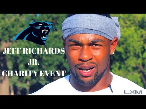 Jeff Richards Jr. NFL Panthers 39 First Annual Charity Event! LXM