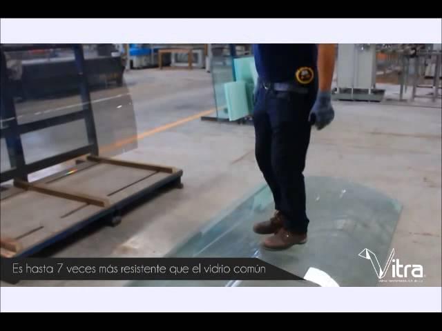 Vidrio Templado / Tempered Glass - Vitra Curve ®