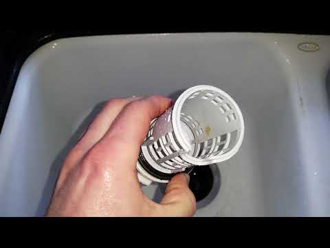 Samsung Washing Machine - How To Remove, Clean & Replace Water Drain Debris Filter